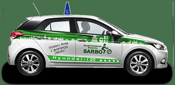 Samochód - szkoła jazdy Sarbo