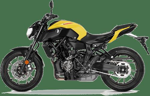 Yamaha-MT07 - wypożyczalnia motocykli
