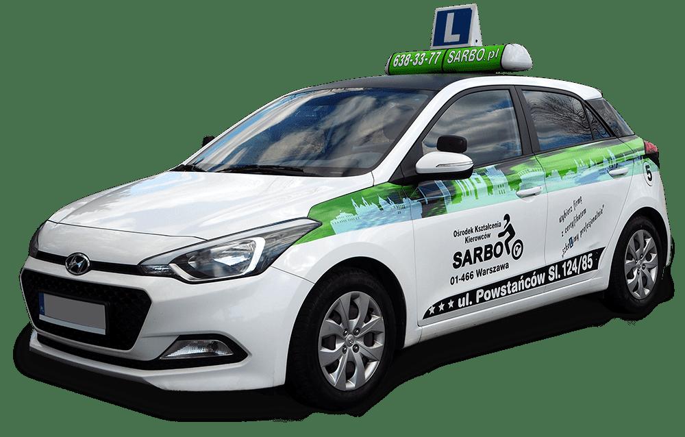 hyundai i20 - szkoła jazdy Sarbo