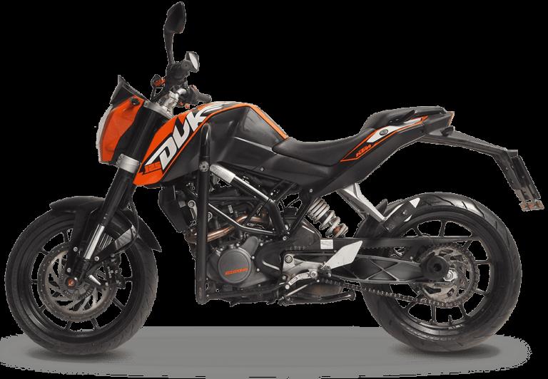 KTM Duke 125 cm3 - wypożyczalnia motocykli