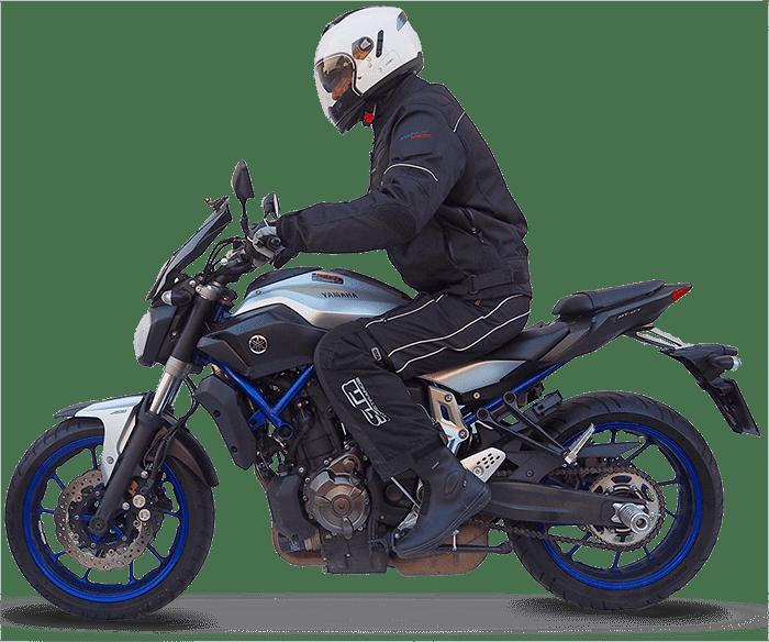 nauka jazdy - motocykle