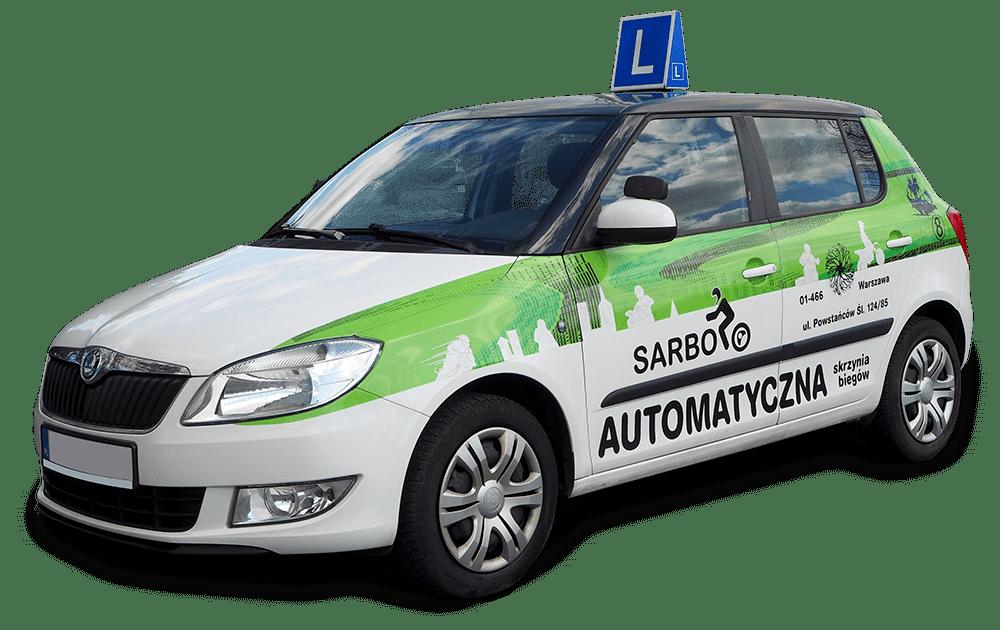 skoda fabia - szkoła jazdy Sarbo